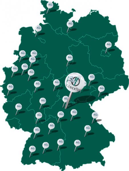 Dachs Karte Deutschland