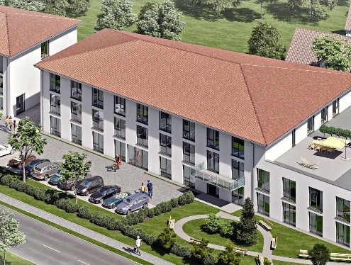 Seniorenzentrum Rheinmünster, wird durch ein Dachs 20.0 Blockheizkraftwerk mit Strom und Wärme versorgt und vom SenerTec Center Lautenbach betreut.