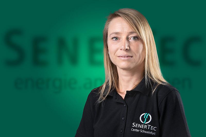 Anja Spiegel, Vertriebsmitarbeiterin im SenerTec Center Schweinfurt