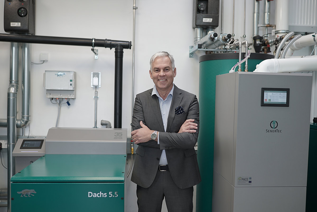 Dr. Josef Wrobel, Geschäftsführer SenerTec